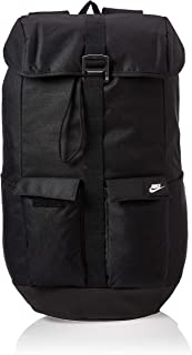 Nike Unisex-Adult Backpack, Black/White - NKBA6440-10