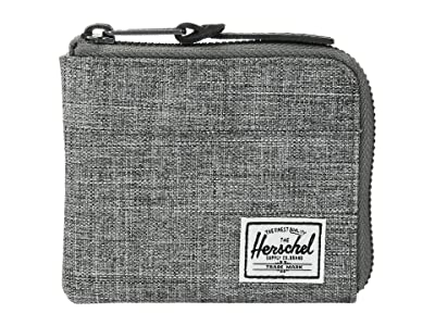Herschel Supply Co. Johnny RFID (Raven Crosshatch 1) Wallet Handbags