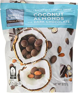 Dark Chocolate Coconut Almonds, 32 Oz