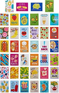 American Greetings Lunch Box Mini Notes, Food is Fun (40-Count)