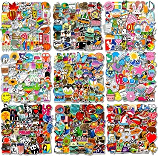 500 PCS Cool Laptop Stickers Vinyl Graffiti Decals, Variety Pack Waterproof Stickers for iPad, Water Bottle, Travel Case, ...
