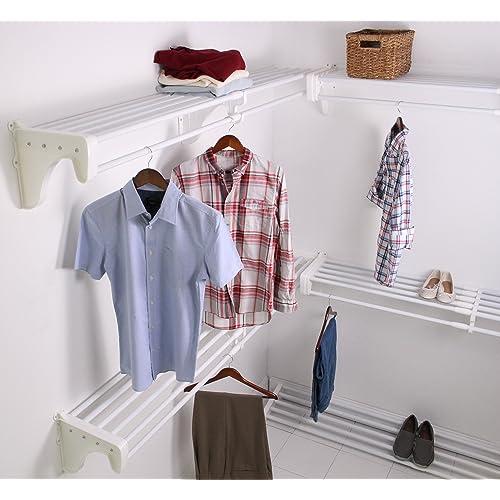 EZ Shelf EZS K SCRW72 5 4 Walk In Closet Kit