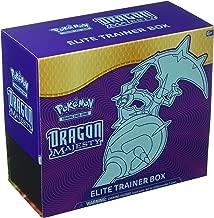 Pokemon ITM0000299 Pokémon Sun & Moon 7.5 Dragon Majesty Elite Trainer, Multicolor