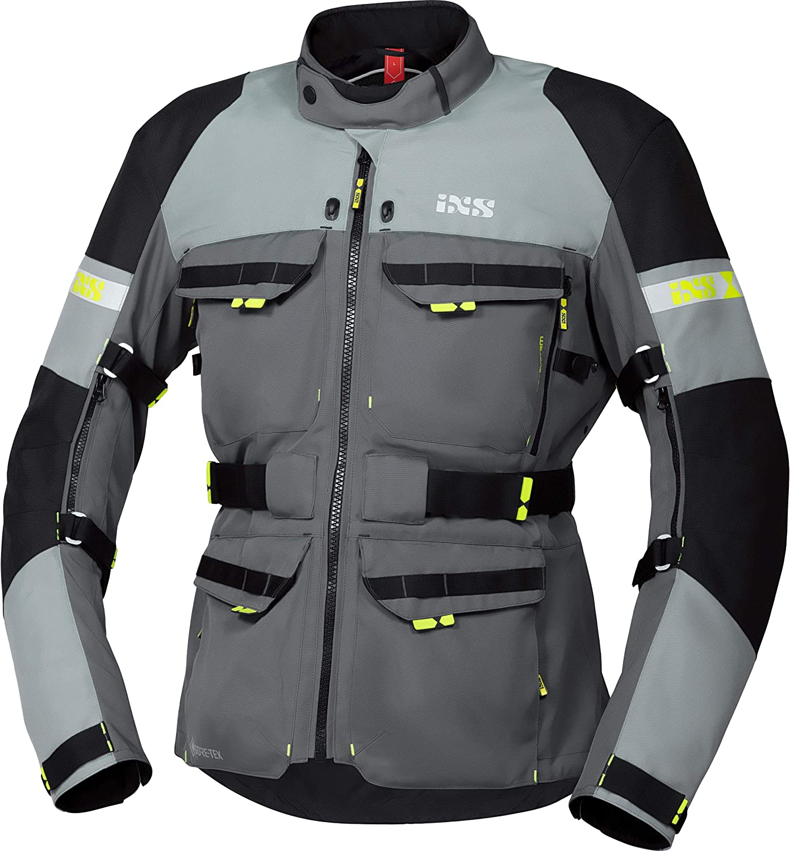 Ixs Motorradjacke Mit Protektoren Motorrad Jacke Adventure Gtx Tour Textiljacke Herren Tourer Ganzjährig Polyester Bekleidung