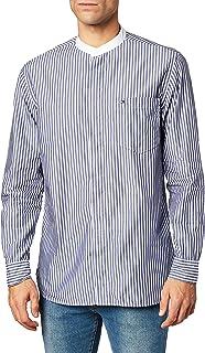 Tommy Hilfiger Relaxed Fashion Grandad Shirt Camisa para Hombre
