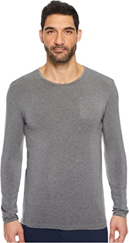 BOSS Hugo Boss - Long Sleeve Round Neck Thermal+ Shirt