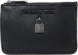 Michael Kors Adele Small Top Zip Coin Pouch ID Card Case Wallet