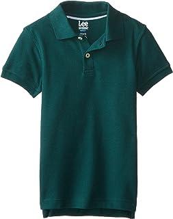 Lee Boys' Short Sleeve Pique Polo