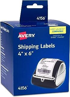 ملصقات شحن حرارية لطابعات دايمو وزيبرا من ايفري 220 Labels
