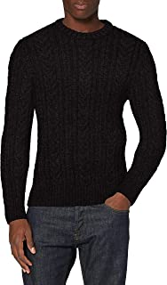 Superdry Men's Jacob Cable Crew Sweater