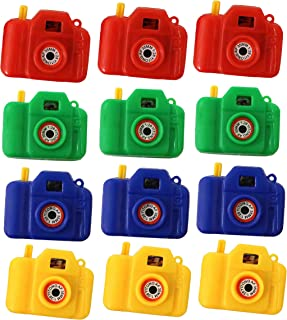 Clicking Camera With Animal Pictures - Pack Of 12 Plastic Cameras