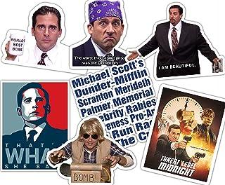 Best of Michael Scott Office Sticker Set **Water Proof Stickers**