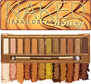 Urban Decay Naked Honey Eyeshadow Palette, 12 Golden Neutral Shades - Ultra-Blendable, Rich Colors with Velvety Texture - ...