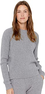 State Cashmere Women's 100% Pure Cashmere Knitted Loungewear Matching Sweater/Pants with Pockets•Add Both to Cart for Set