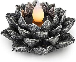 VP Home Lotus Flower Solar Powered LED Outdoor Decor Garden Light