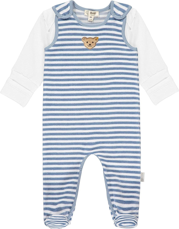 Steiff Unisex Baby Mit S/ü/ßer teddyb/ärapplikation T-Shirt Langarm GOTS