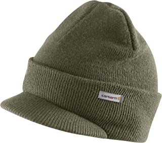 Men's Knit Hat With Visor