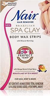 Best nair brazilian spa clay body wax strips Reviews