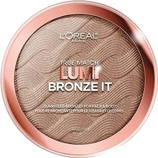 L'Oreal Paris Cosmetics True Match Lumi Bronze It Bronzer For Face And Body, Deep, 0.41 Fluid Ounce