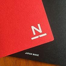 ノンブルノート「N」(08)レッド×ブラック