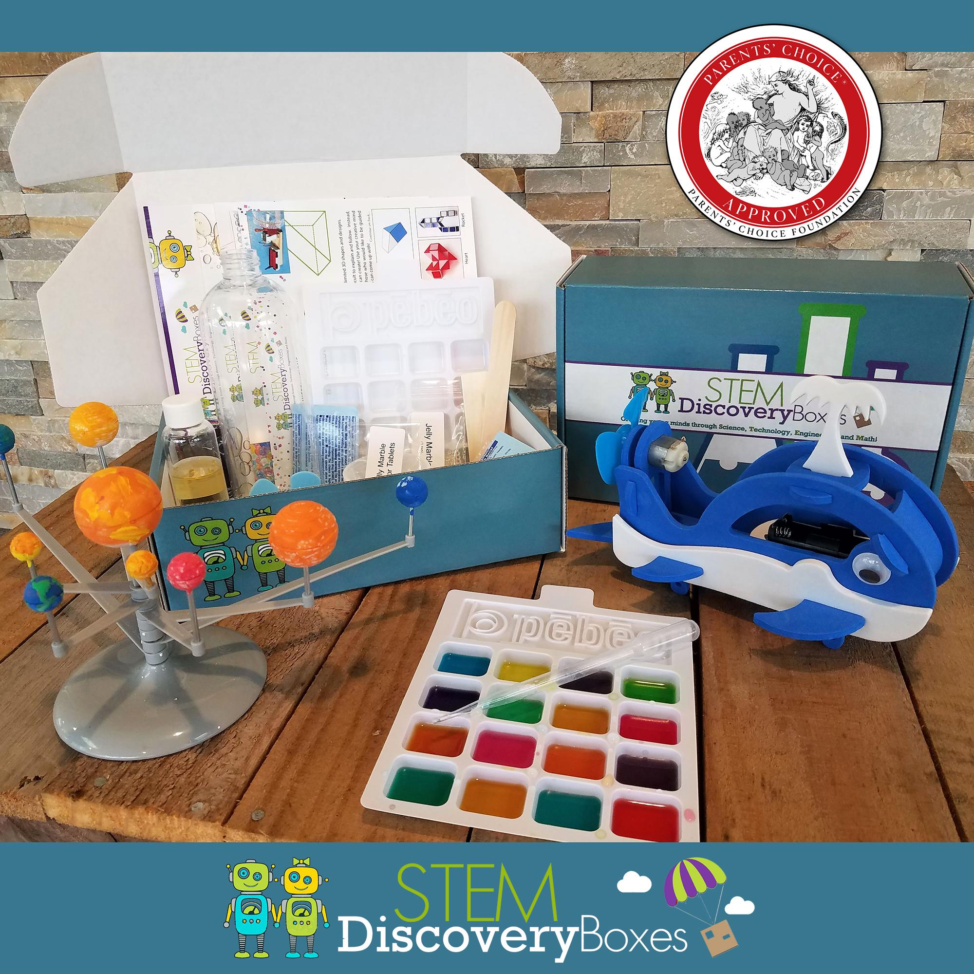 STEM Discovery Boxes - Monthly STEM Science Subscription Box