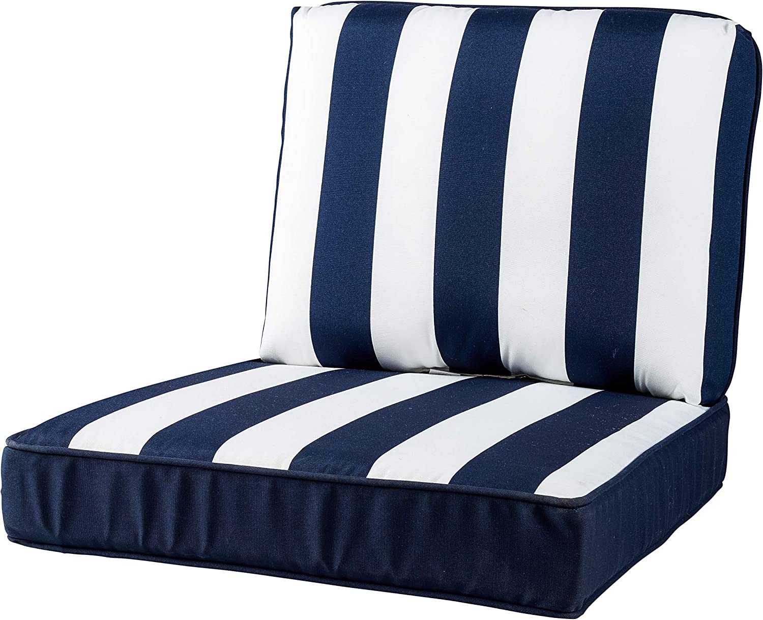 Quality Outdoor Living 29-NVS23SB Chair Cushion low-pricing x 23 W 26 Navy Cheap mail order shopping