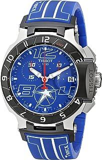 Men's T0484172704700 Nicky Hayden T-Race Limited Edition Analog Display Swiss Quartz Blue Watch