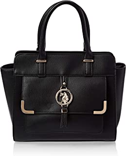 U.S. POLO ASSN. Womens Ringer Satchel Bag