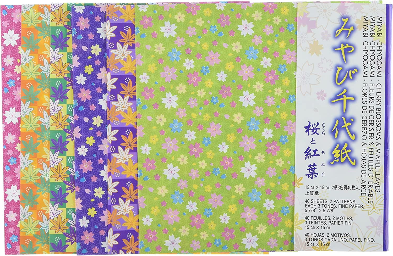 Aitoh Origami Papier 5.875-inch X 5.875-inch 40 Sheets-Blossom und und und Ahorn Blätter B00JL6KWZM   Kaufen Sie online  7cc374