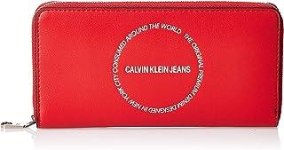 Calvin Klein Sculpted Large Zip Around Wallet, 19 cm, K60K606166