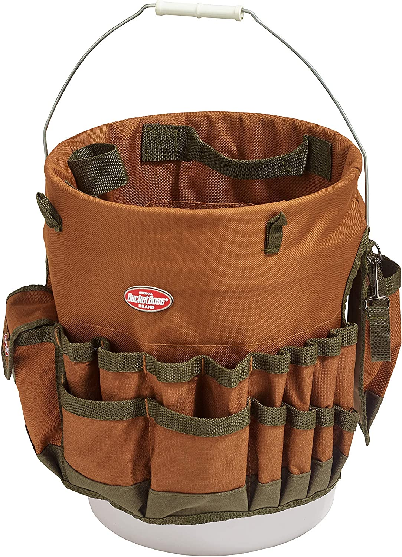 バーゲンセール Bucket Boss The Bucketeer Tool ギフ_包装 10030 Brown Organizer in