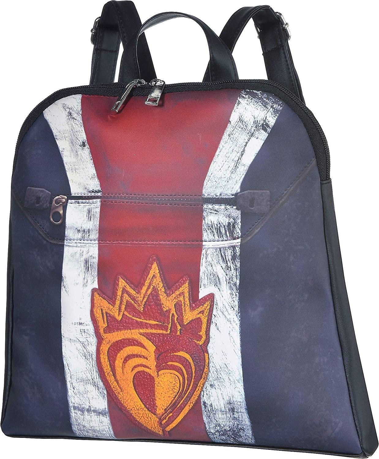 Party City Descendants 3 Evie Be super welcome Backpack for Feat One Girls Ranking TOP4 Size