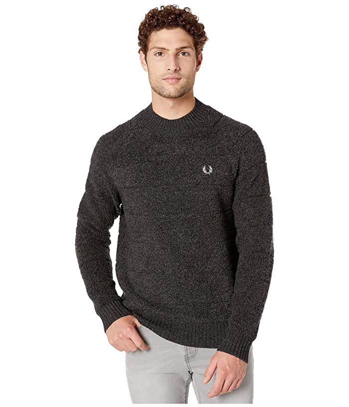Fred Perry Textured Crew Neck Jumper | 6pm