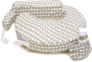 My Brest Friend Nursing Pillow, Sunshine Poppy, Grey, Yellow