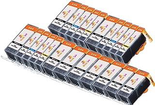 22 Packs Mouse Ink Compatible Canon PGI225XL 225 XL CLI-226XL Cli 226 Works with PIXMA IP4820 PIXMA MG5120 PIXMA MG5220 MG5320 MG6120 MG6220 MG8120 MG8120B MG8220 MX710 MX712 MX882 MX892 iX6520 ip492