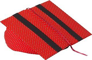 Klein & More Leselotte 11303 - Atril para Libros, diseño de Lunares, Color Rojo