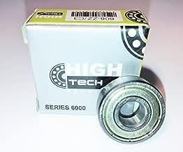 608-2Z/C3 - Deep Groove Ball Bearing, High Tech Bearings, 8x22x7 mm, C3 Clearance, Metric, Steel Cage, Double Shielded