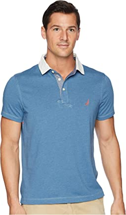 Faux Indigo Sporty Polo
