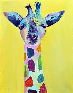 Best rainbow giraffe painting Reviews