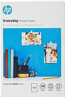 HP CR757A - Papel fotográfico brillante (100 hojas, 10 x 15 cm)
