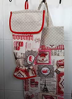 Bolsa de pan y guardabolsas pasteles