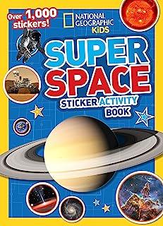 Super Space Sticker Activity Book