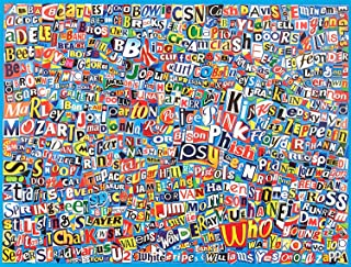 Ceaco Music Logo Collage Puzzle (550Piece)