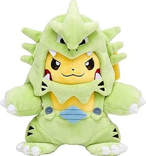 Pokemon Center Original Plush Doll Tyranitar-Maniac Pikachu 630-242774