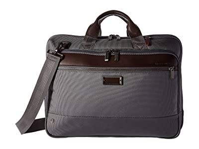 Briggs & Riley @work Medium Brief (Grey) Briefcase Bags