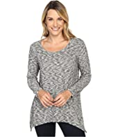 Nally & Millie Long Sleeve Brushed Sweater Tunic