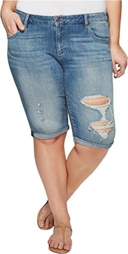 Lucky Brand - Plus Size Ginger Bermuda Shorts in Indian Hills