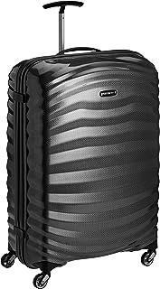 Samsonite Lite-Shock - Spinner L Maleta, 75 cm, 98.5L, Negro (Black)