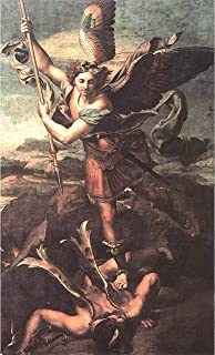 St. Michael Overwhelming The Demon by Raphael