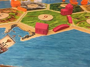 Build3D Replacement Pieces for Settlers of Catan - Victorian Era - Single Player - Pink